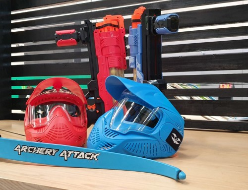 Junior Masks – Archery Attack Melbourne