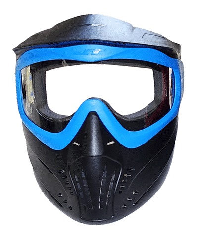 Blue PVP Archery Mask